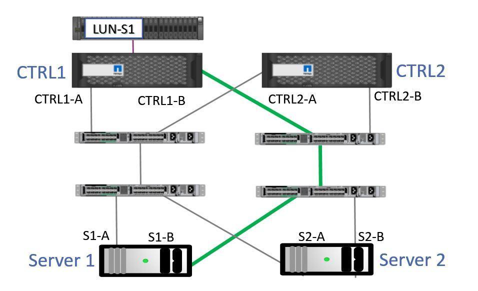 ALUA Optimized Path 2
