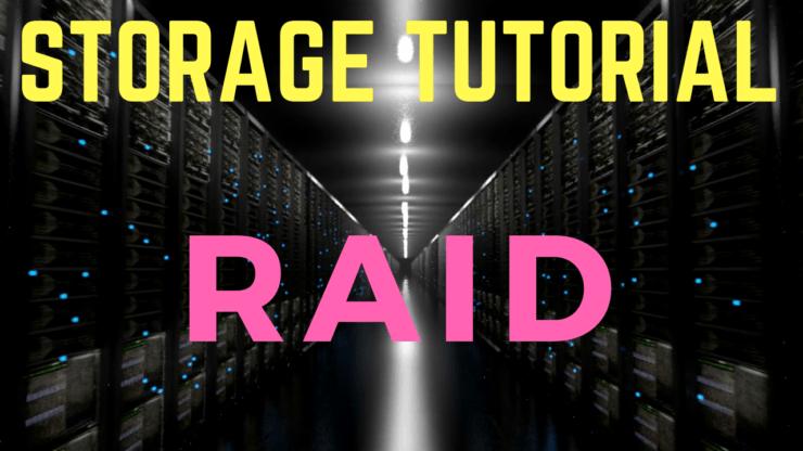 Storage RAID tutorial