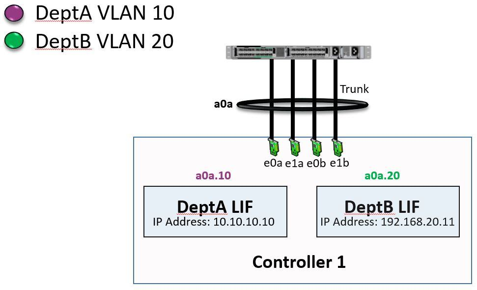 NetApp VLANs and Interface Groups Combined