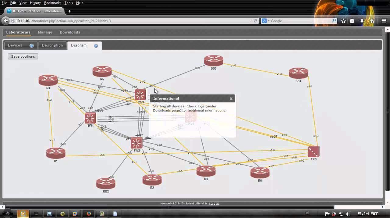Cisco IOU - FlackBox