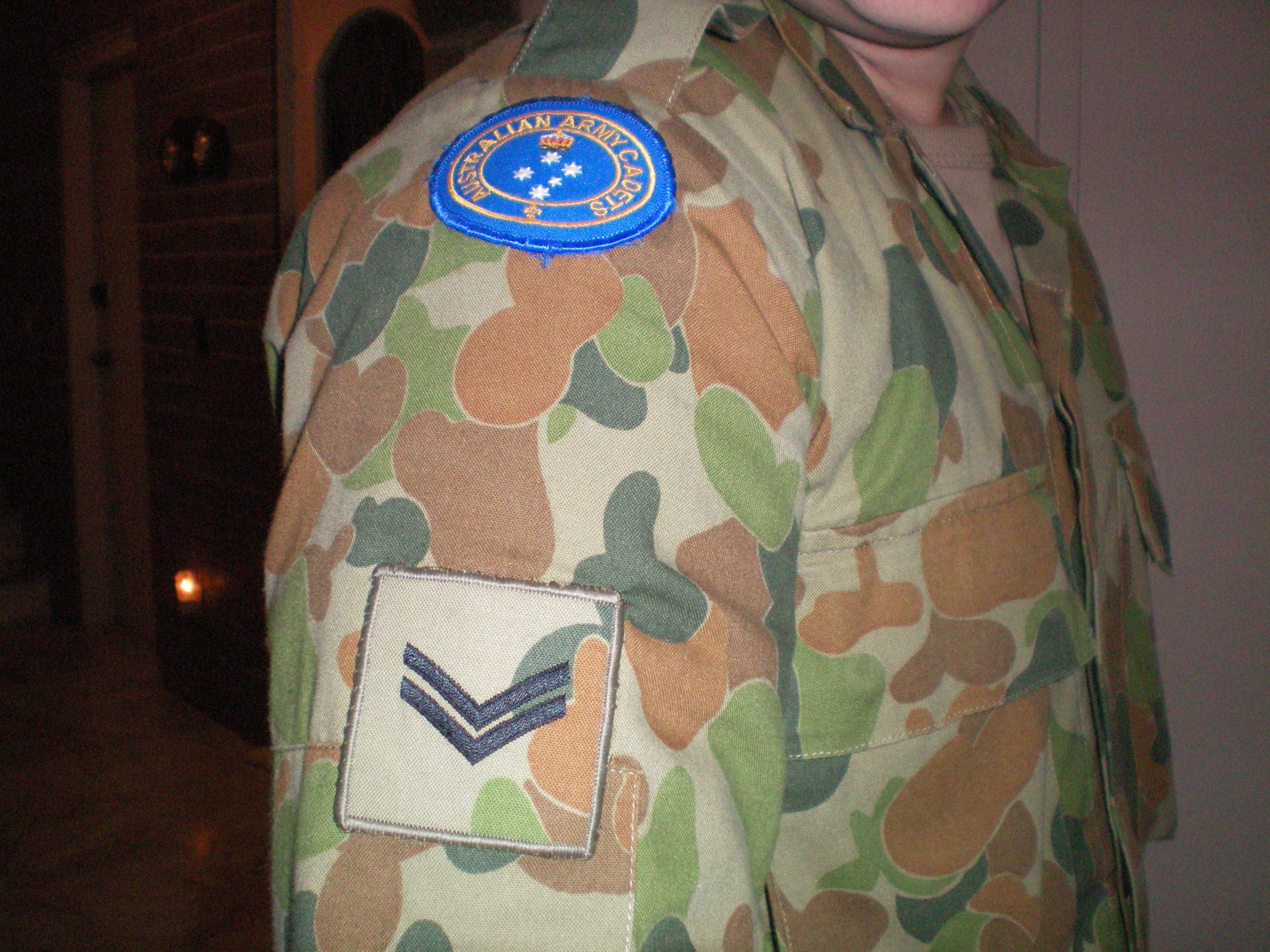 Cpl. Owen B., Australian Army