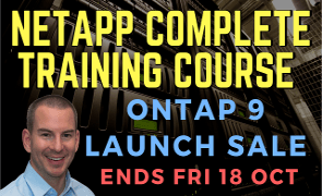 Netapp ONTAP 9 Training Course Launch Sale