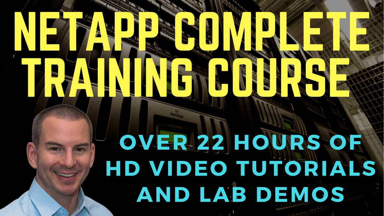 NetApp Complete Course Promo