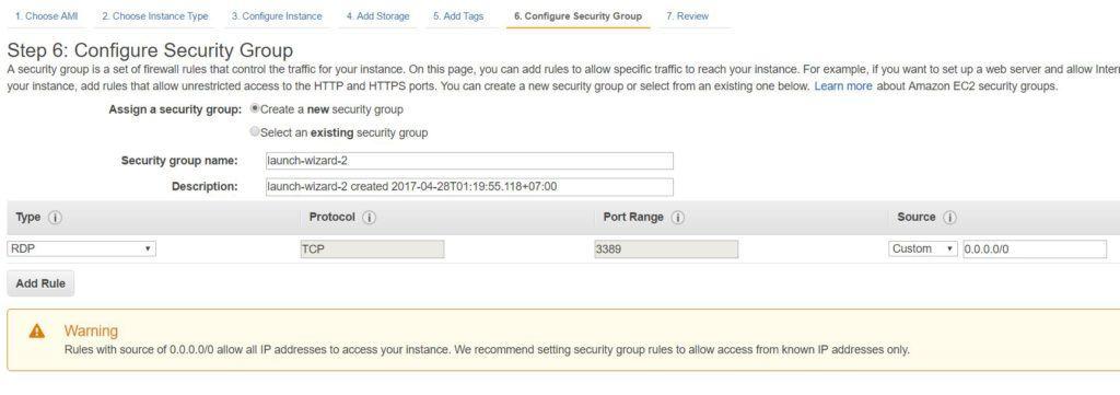 AWS Security Group