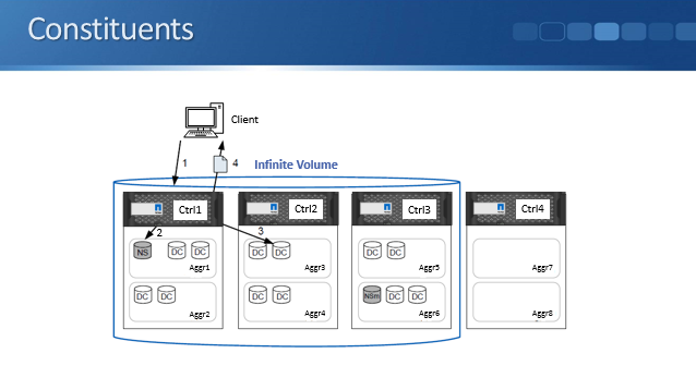 NetApp Infinite Volumes and Storage Classes