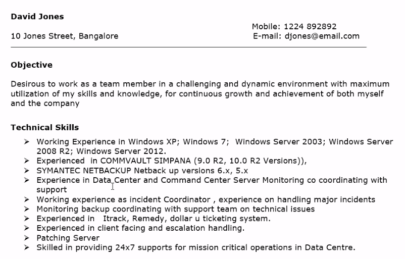 Buy Resume For Writing Network Engineer