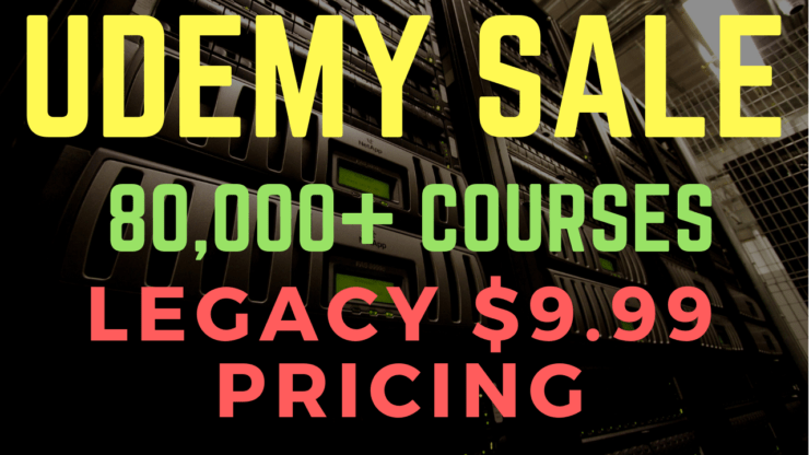 Udemy Sale - 80,000+ Courses for $9 99 - FlackBox