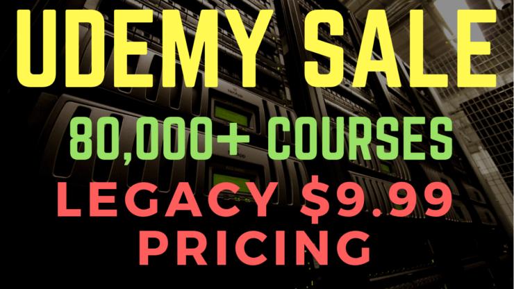 Udemy Legacy Sale