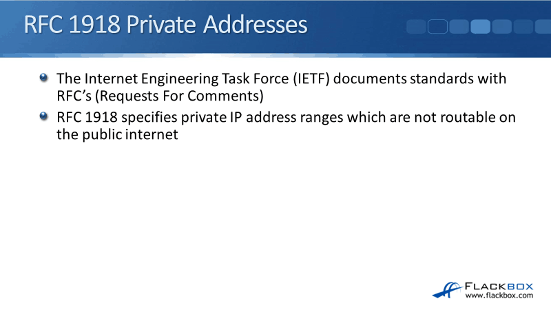 Private IP Addresses (RFC 1918) Tutorial