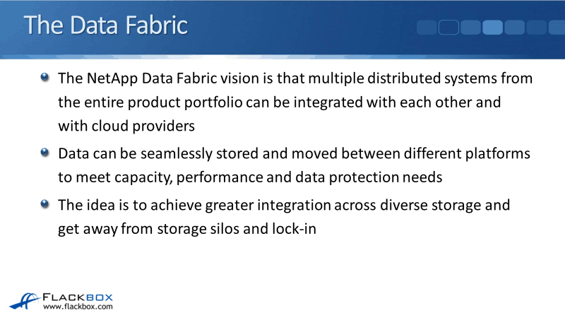 The NetApp Data Fabric - Overview Tutorial