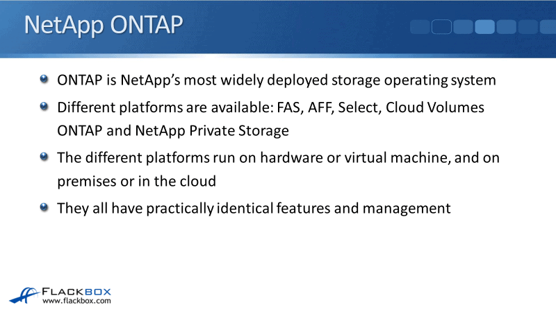 NetApp ONTAP Platforms Overview Tutorial - FAS, AFF, ONTAP Select and Cloud Volumes ONTAP