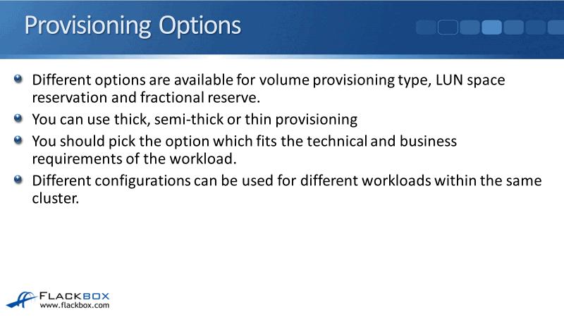 NetApp SAN Thin Provisioning Settings Tutorial