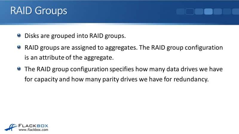 RAID Groups and Aggregates on NetApp ONTAP