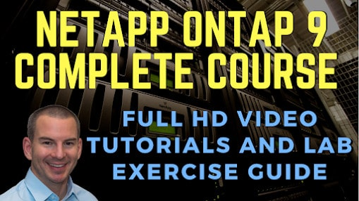NetApp ONTAP 9 Complete Course