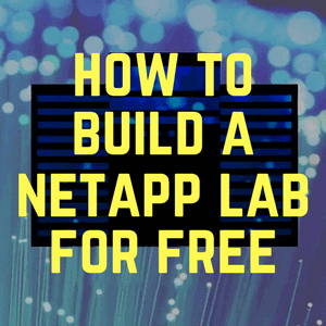 How to Build a NetApp Lab for Free course