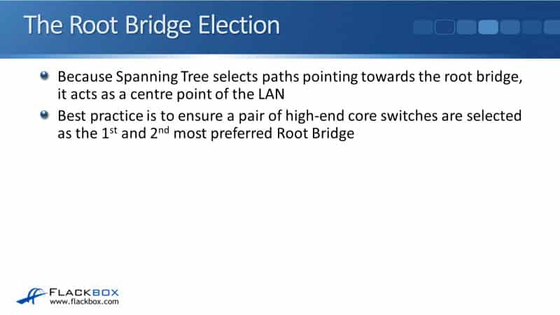The Spanning Tree Root Bridge Election on Cisco Switches