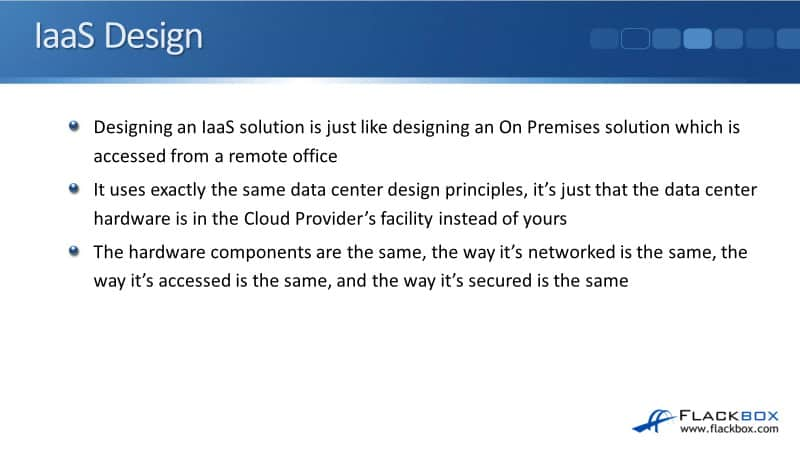 Cloud IaaS Infrastructure as a Service Design Example