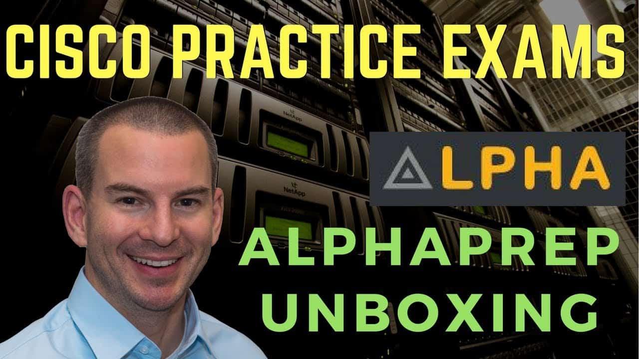 AlphaPrep Cisco Exam Prep - Unboxing and Review