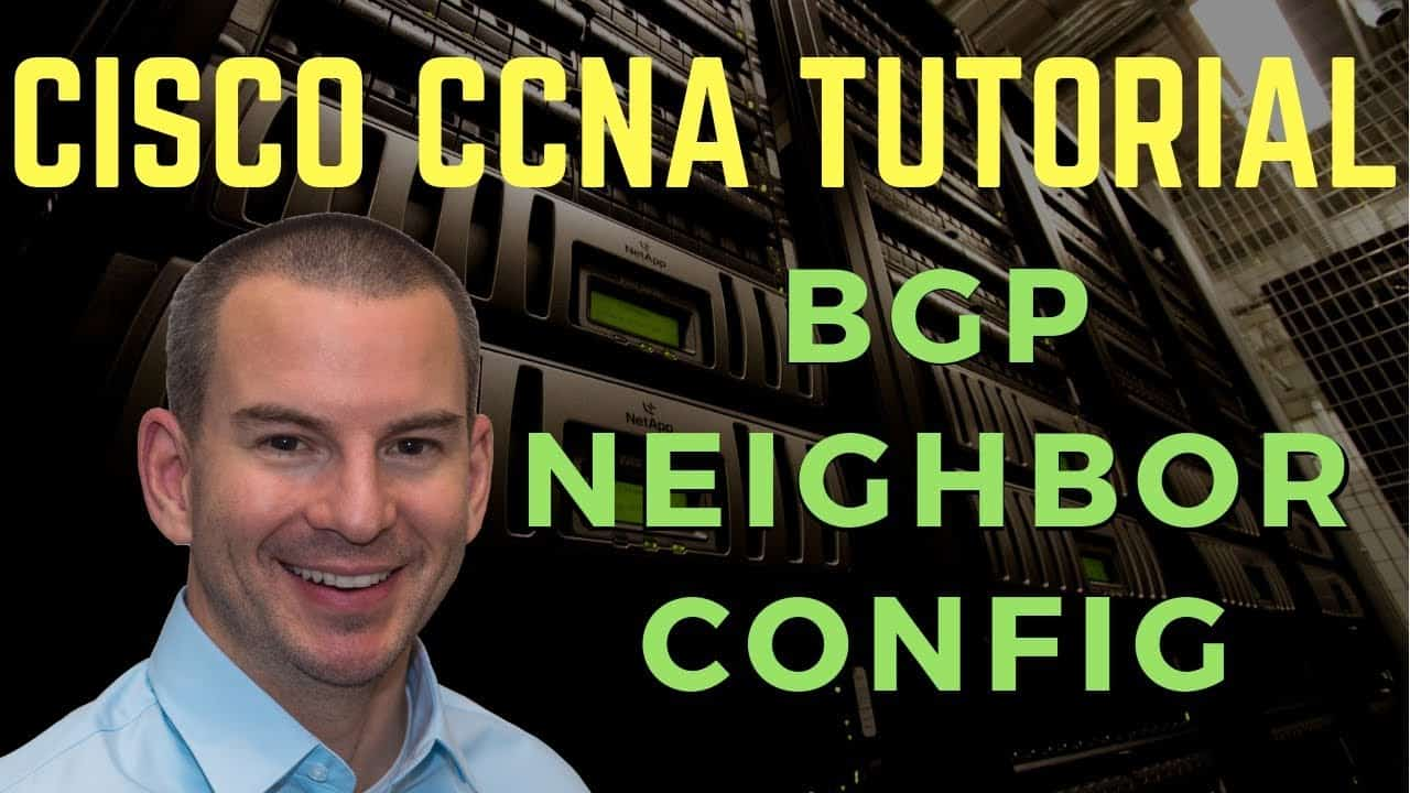 Configuring BGP Neighbors on Cisco Routers