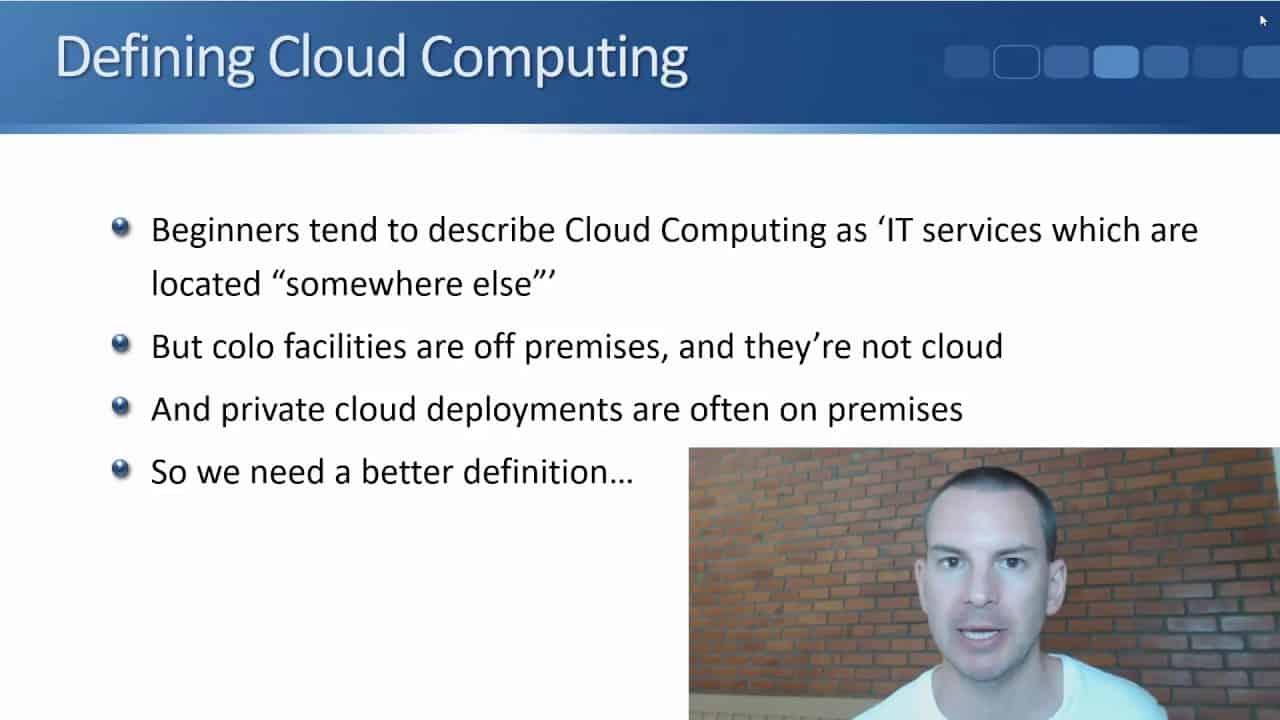 Defining Cloud Computing - Tutorial
