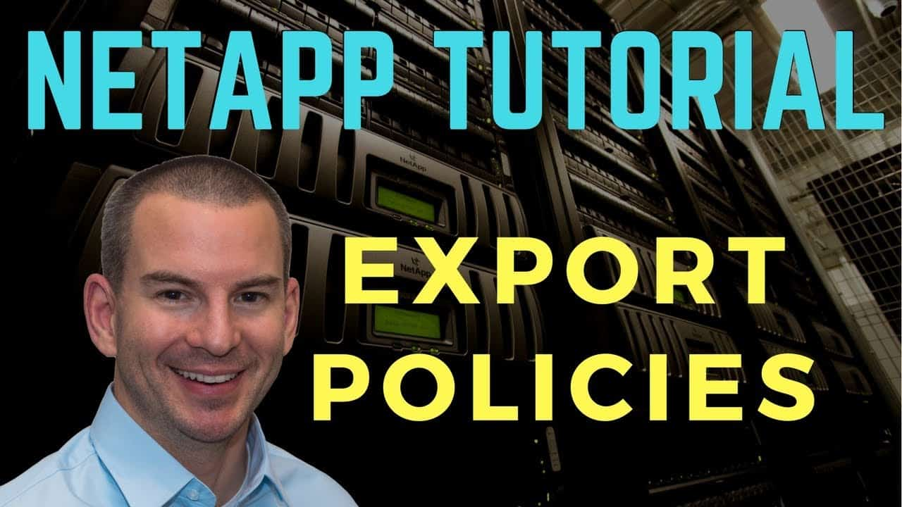 NetApp Export Policies Tutorial