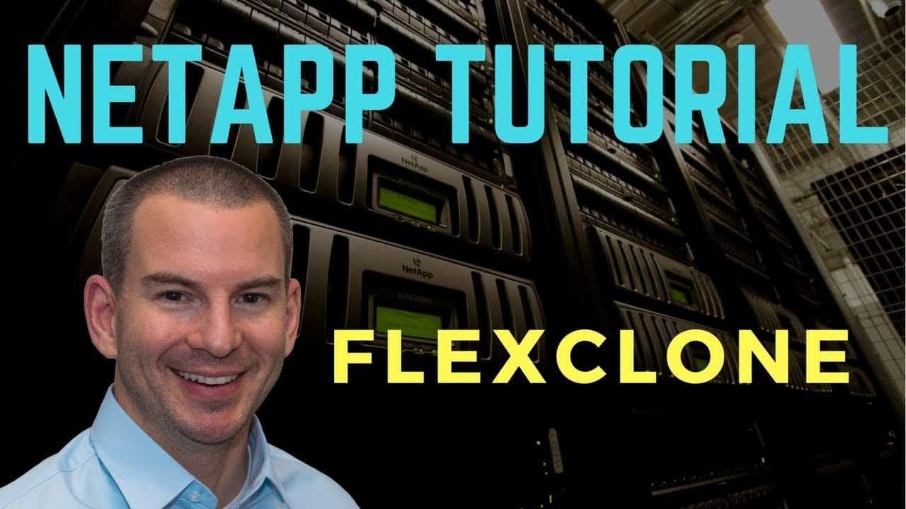 NetApp FlexClone Tutorial