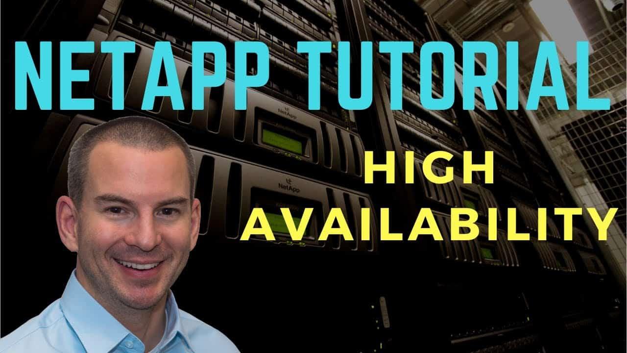 NetApp High Availability