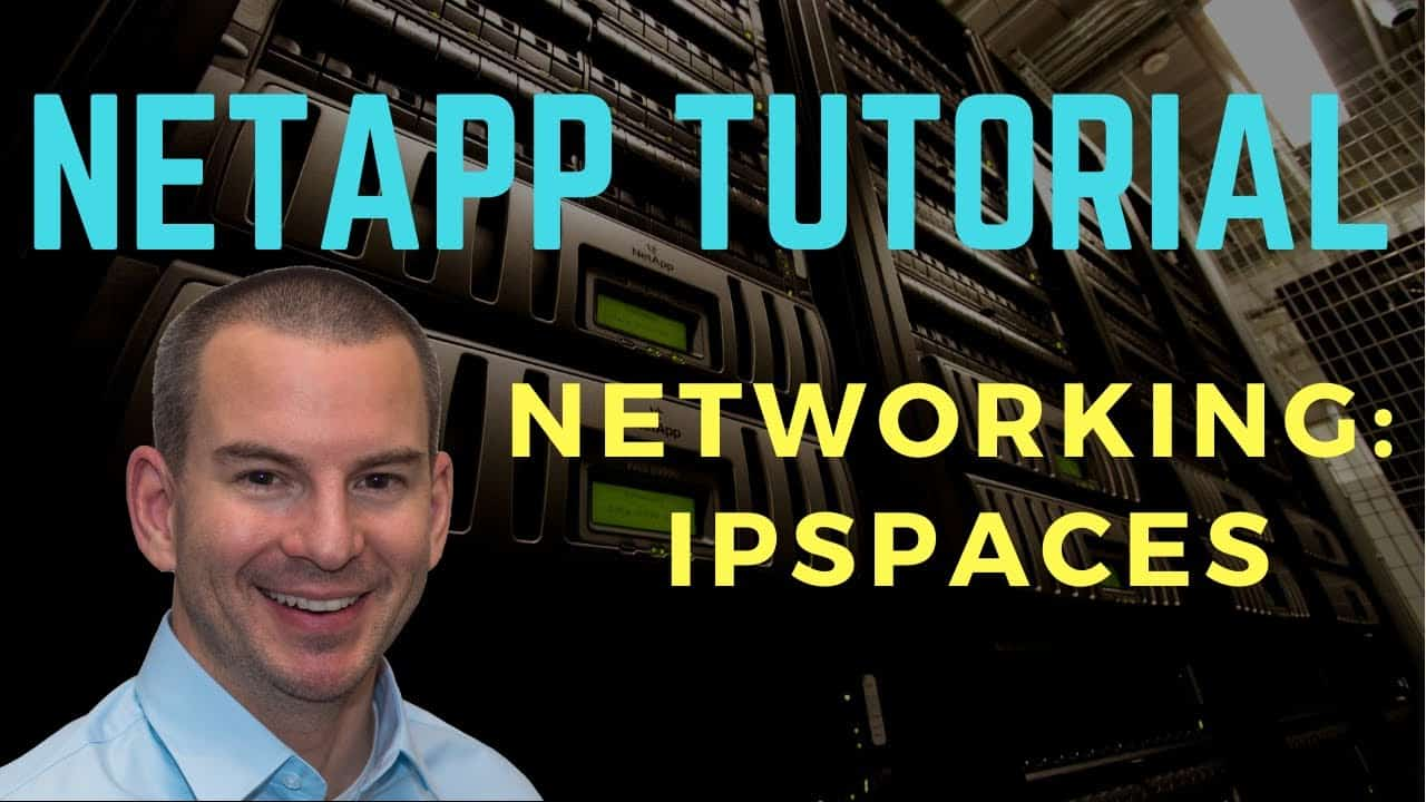 NetApp IPspaces Networking Tutorial