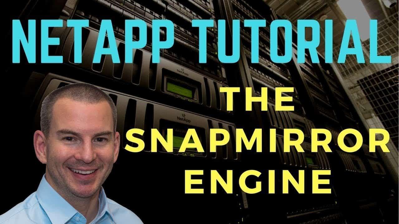 NetApp SnapMirror Engine Tutorial