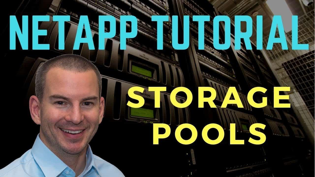 NetApp Storage Pools (Flash Pool SSD) Tutorial
