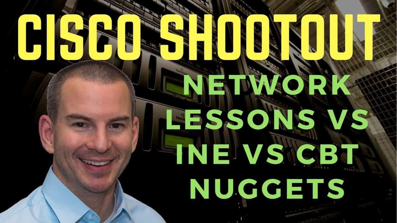 NetworkLessons.com vs INE vs CBT Nuggets Review