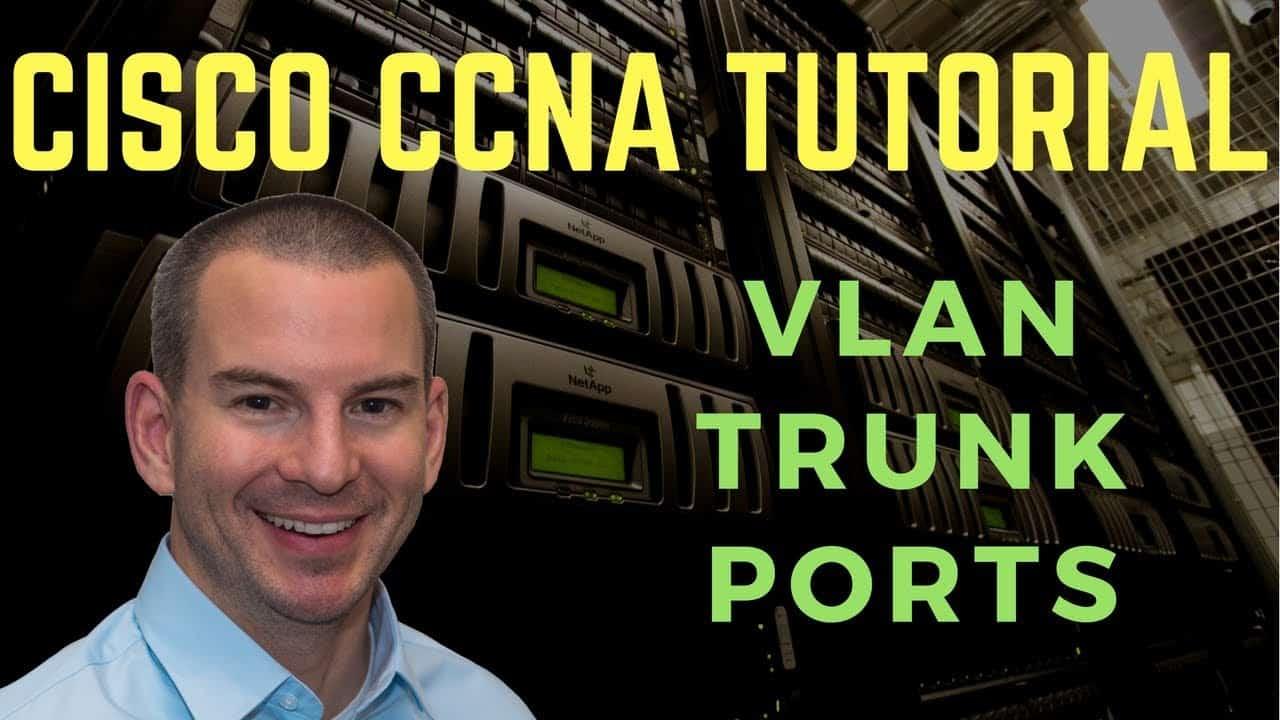 VLAN Trunk Ports - Cisco CCNA Tutorial