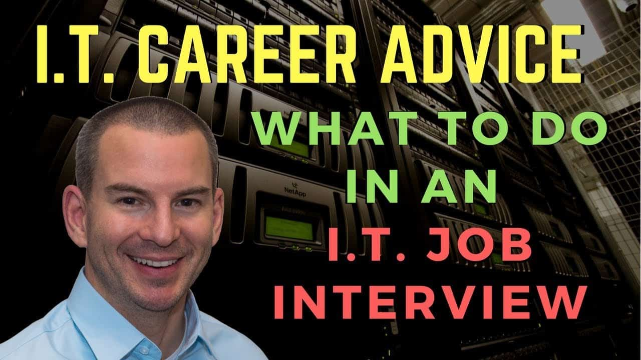 What to do in an IT Job Interview