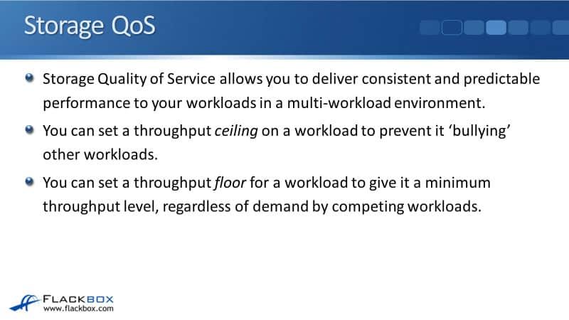NetApp Storage QoS Tutorial