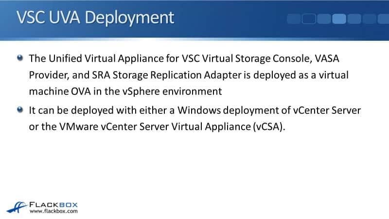 NetApp VSC Installation