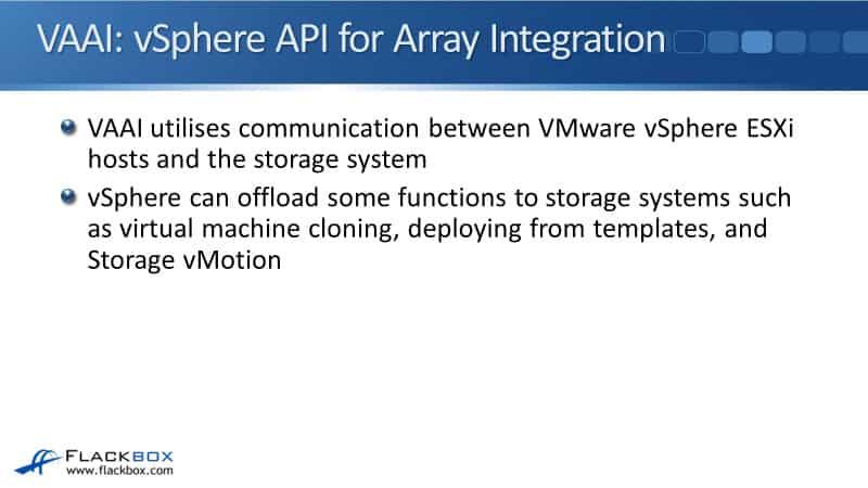 NetApp VMware Storage - VAAI, VASA, and MPP